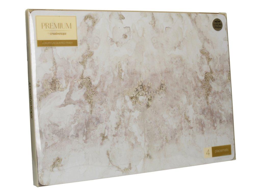 Creative Tops - Korkové prostírání Grey Marble velké / 40*29 cm/