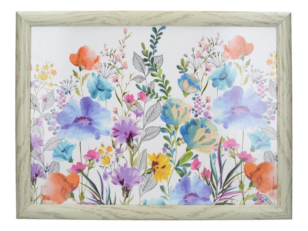 Servírovací tác s polštářem Meadow Floral
