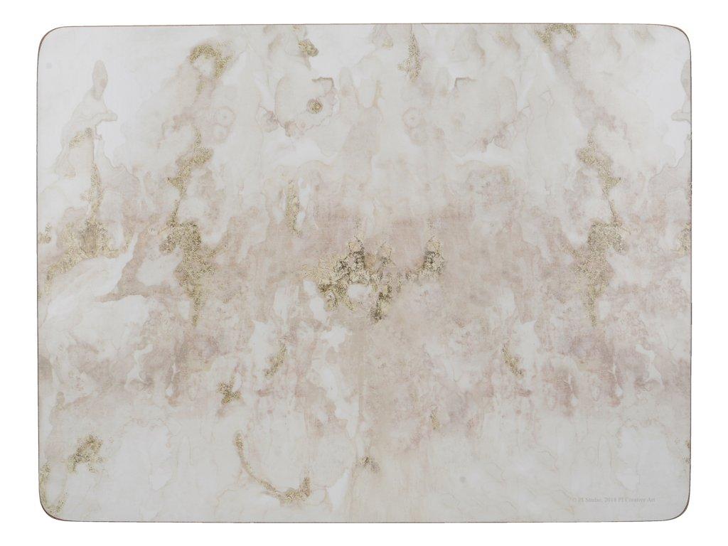 Creative Tops - Korkové prostírání Grey Marble malé /29*21 cm/ - 6 ks v sadě