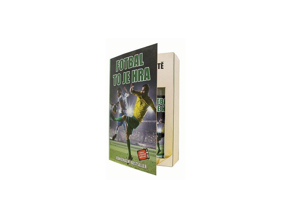Bohemia Gifts Sada kniha fotbalistu – gel 200 ml a šampon 200 ml