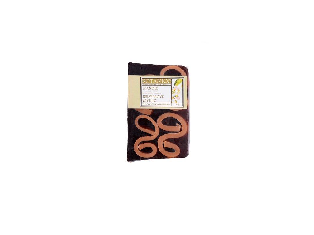 Mýdlo křišťálové s vruty mandle 150g