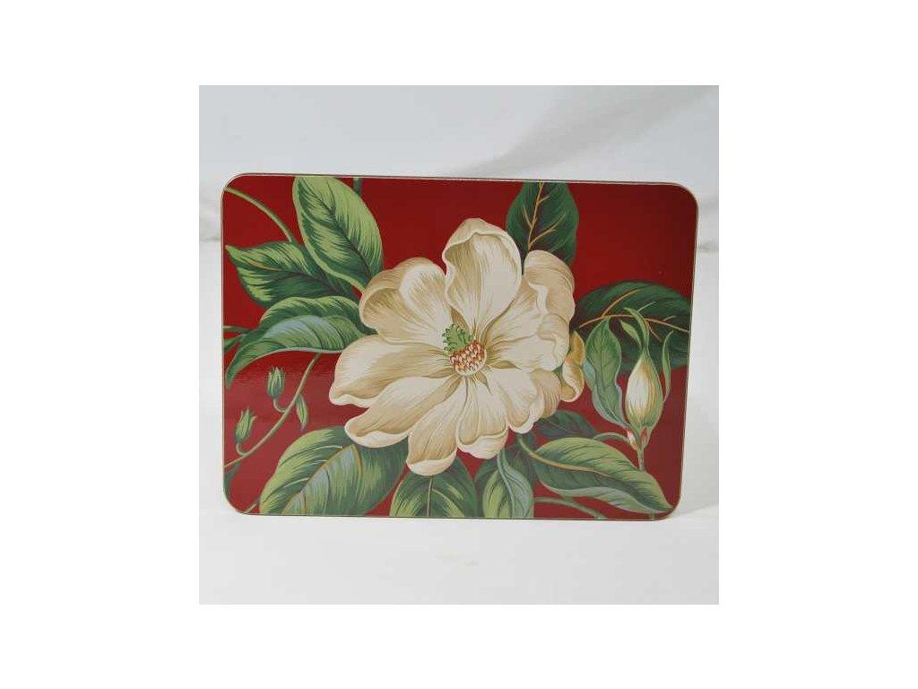 Jason - Korkové prostírání Garden Images Red /29*21,5 cm/ - 6 ks v balení