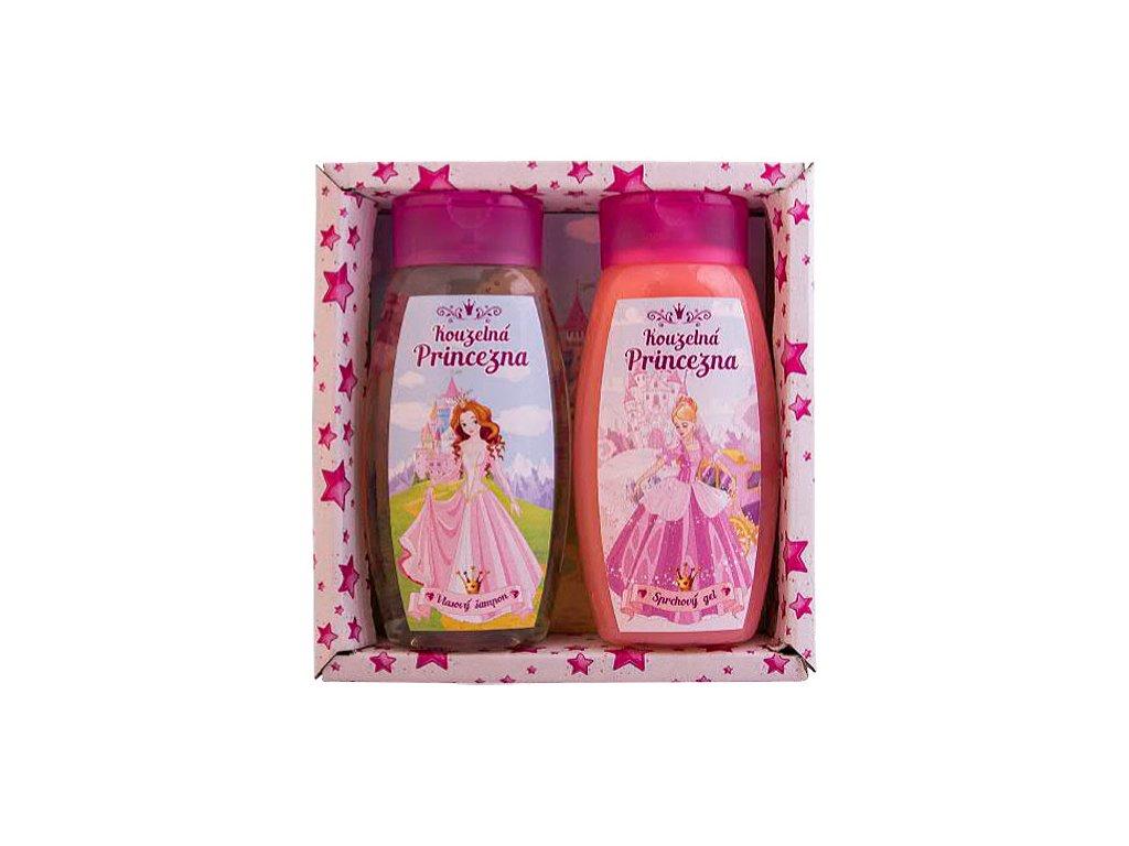 Bohemia Gifts Sada Kouzelná princezna – gel 250ml a šampon 250ml
