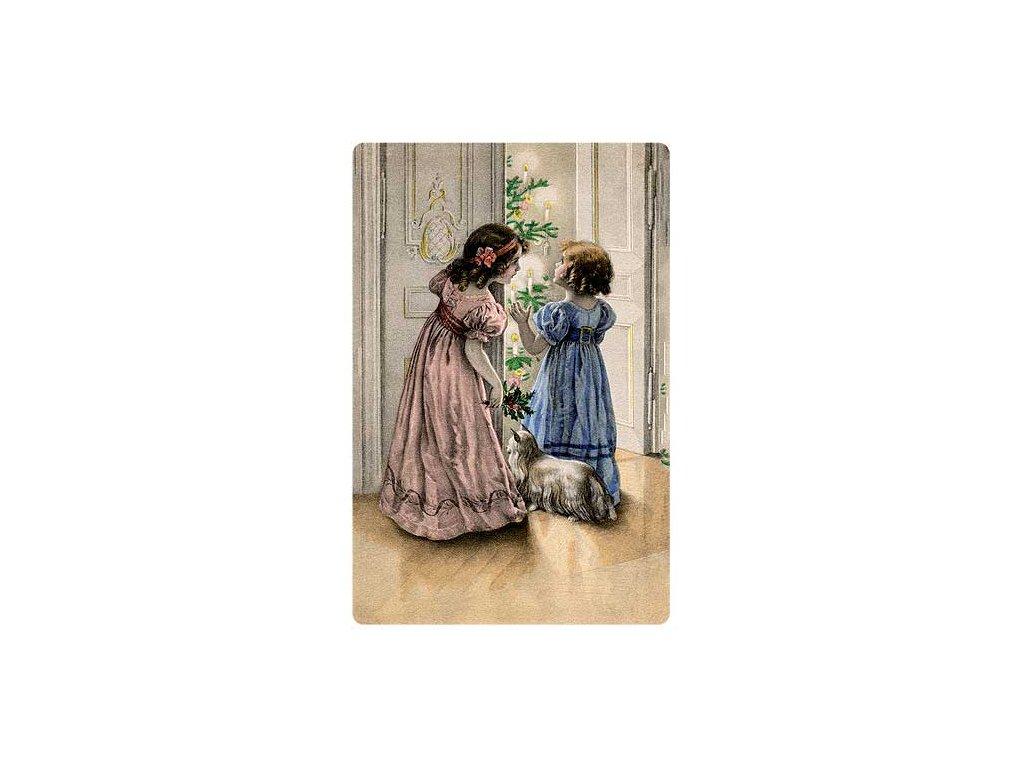 Bohemia Gifts Aromatická vonná karta 10,5 x 16 cm - vánoční večer