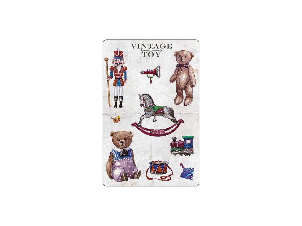 Bohemia Gifts Aromatická vonná karta 10,5 x 16 cm - hračky