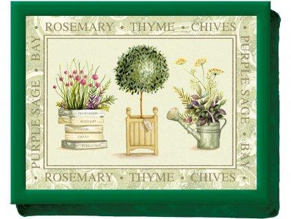 Creative Tops - Servírovací tác s polštářem Topiary /44*33 cm/