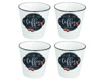 Easy Life - Sada hrnků na espresso Kitchen Basic - 4*100 ml