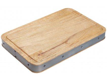 Dřevěné obdélníkové prkénko Industrial Kitchen