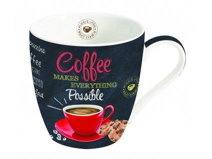 Easy Life - Porcelánový hrnek na kávu It´s Coffee Time - 350 ml