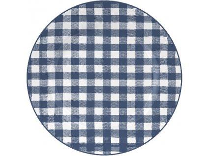 Creative Tops - Dezertní porcelánový talíř Gingham /19*19 cm/