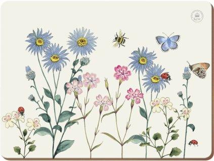 Creative Tops - Korkové prostírání Meadow Bugs /29*22 cm/ - 6 ks v balení