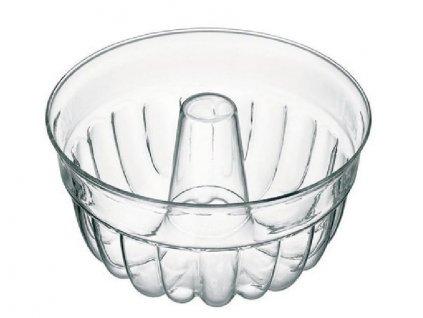 Skleněná forma na bábovku - bábovka d25cm,1,2l velká, var.sklo