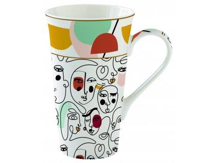 Easy Life - Porcelánový hrnek velký Modernism - 600 ml