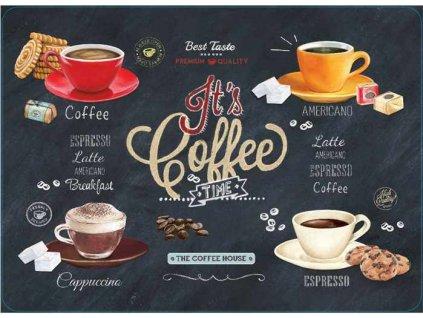 Korkové prostírání Its Coffee TIME střední