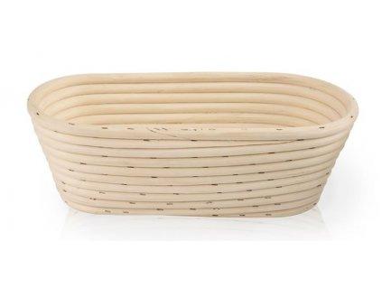 Ošatka na chleba - ovál 26x13x9cm PEDIG přírodní