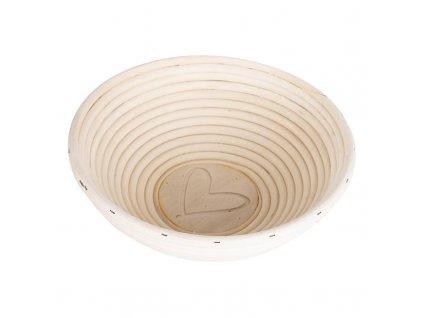 Ošatka na chleba - kulatá d21cm PEDIG přírodní