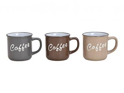 G.WURM - Sada kameninových hrníčků COFFEE - 3 * 340 ml