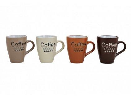 G.WURM - Sada keramických hrníčků COFFEE - 4 * 250 ml