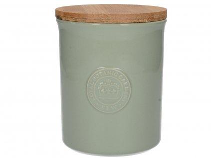 Creative Tops - Keramická dóza Richmond - zelená /13,8x11x11 cm/