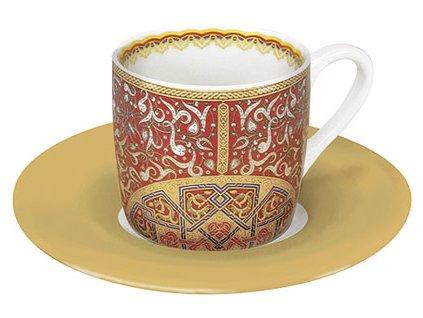 Al Hambra červený - hrnek na espresso - 85 ml