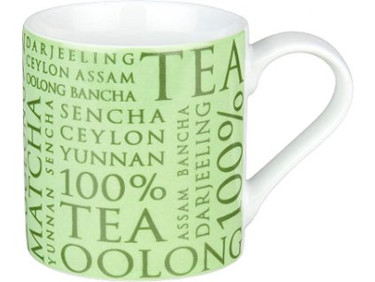100% Tea green - hrnek