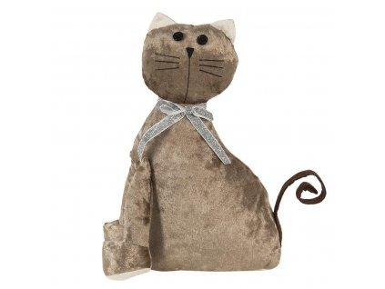 """Clayre & Eef - Dveřní zarážka """"Kočka"""" - 20*11*29 cm"""