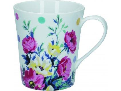 Creative Tops - Porcelánový hrnek Clovelly s květy - 330 ml