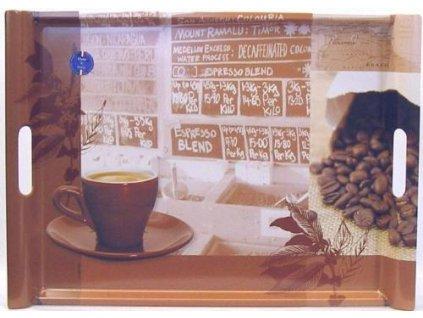 Melaminový tác coffee