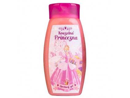 Bohemia Gifts Dětský sprchový gel 250 ml - princezna
