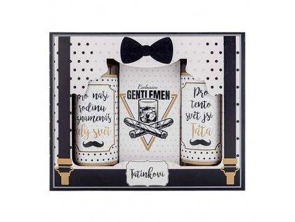Bohemia Gifts Sada pro tatínka gel 100 ml, šampon 100 ml a sůl 110 g