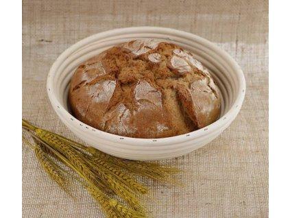2 ks - Ošatka na chleba - d21x7,5cm PEDIG přírodní PO 1,6,