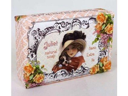 Luxusní přírodní mýdlo 200g s vůní balené - Juliet