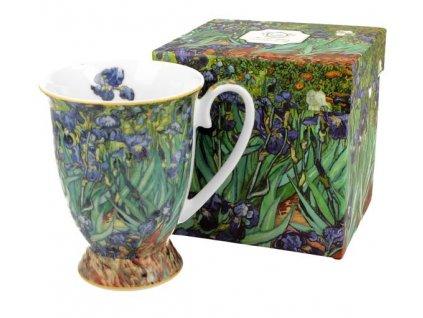"Van Gogh""Irises"" - Hrnek porcelánový s dekorem 325ml v boxu"
