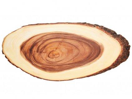 Rustikální dřevěné servírovací prkénko