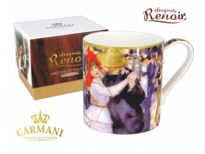 Carmani - Porcelánový hrnek Auguste Renoir v dárkové krabičce - 380 ml