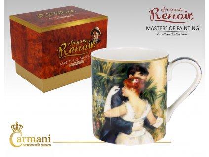 Carmani - Porcelánový hrnek Auguste Renoir I v dárkové krabičce - 380 ml