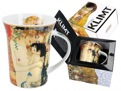 Porcelánový hrnek Gustav Klimt Mateřství