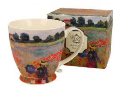 Porcelánový hrnek Claude Monet na stopce v dárkové krabičce - 450 ml