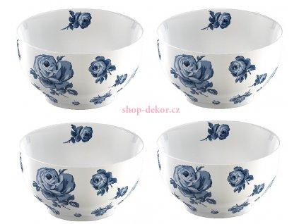 Porcelánové misky Vintage Indigo Floral od Katie Alice
