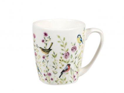 """Churchill - Porcelánový hrníček """"Bird Watch Pink"""" - 300 ml"""