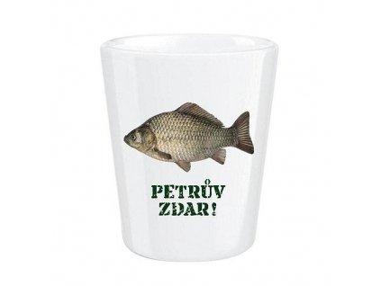 bg porcelanovy poharek pro rybare kapr