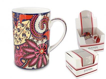 """EATON - Porcelánový hrníček """"London Kalam"""" v dárkové krabičce - 350 ml"""