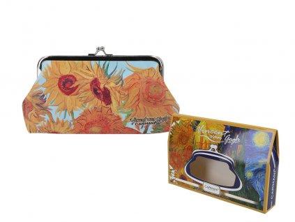 """Velká peněženka V. Van Gogh """"Sunflowers"""""""