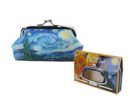 """Velká peněženka V. Van Gogh """"Hvězdná noc"""""""