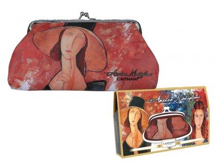 Velká peněženka A. Modigliani v dárkové krabičce