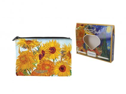 Kosmetická taštička V. Van Gogh Sunflowers