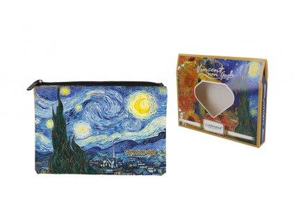 Kosmetická taštička V. Van Gogh Hvězdná noc