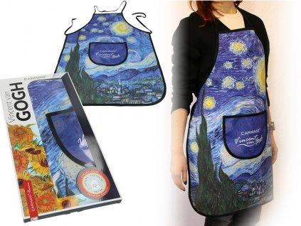 Kuchyňská zástěra V. Van Gogh Hvězdná noc