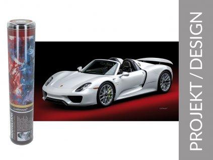 Ručník Porsche 918 Spyder v dárkové krabičce