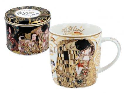 """Hrnek Gustav Klimt """"The Kiss"""""""